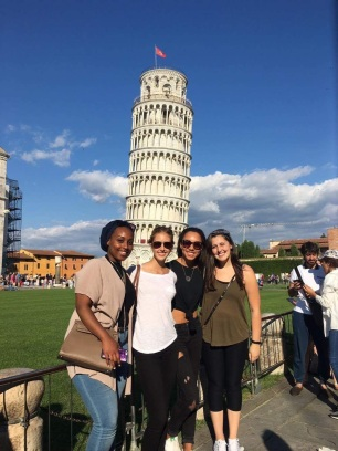 Our two friends Lana and Aysha joined us in Pisa before they split off on their own Italian adventure!