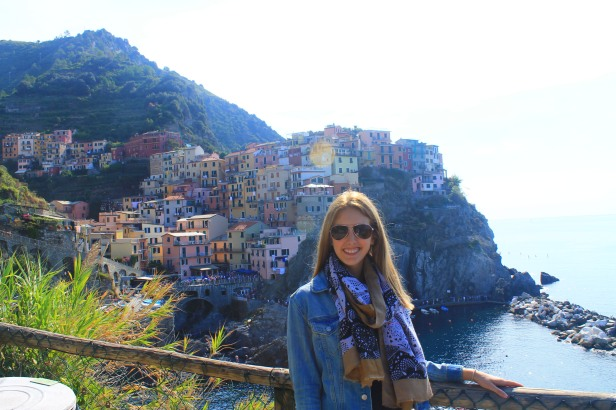 The beautiful city of Manarola!
